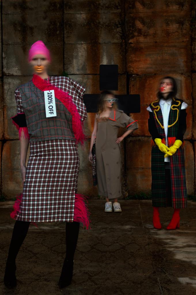 Models (from left to right): Luisa La Mantia, Giulia Terzo, Monica La Mantia